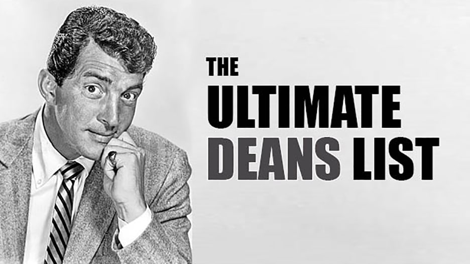 The Ultimate Deans List graphic