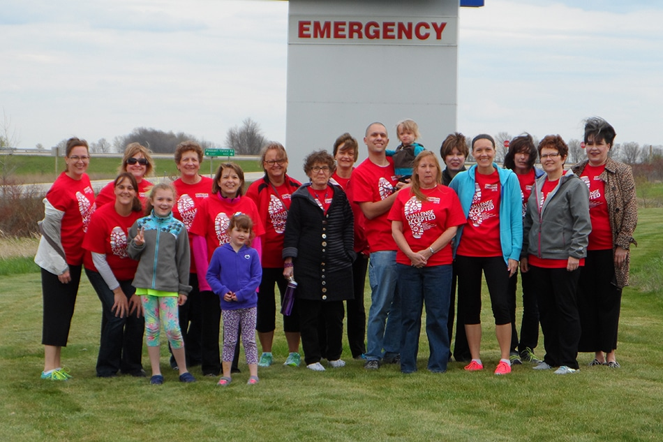 West Bend Health and Wellness Corporate Challenge participants
