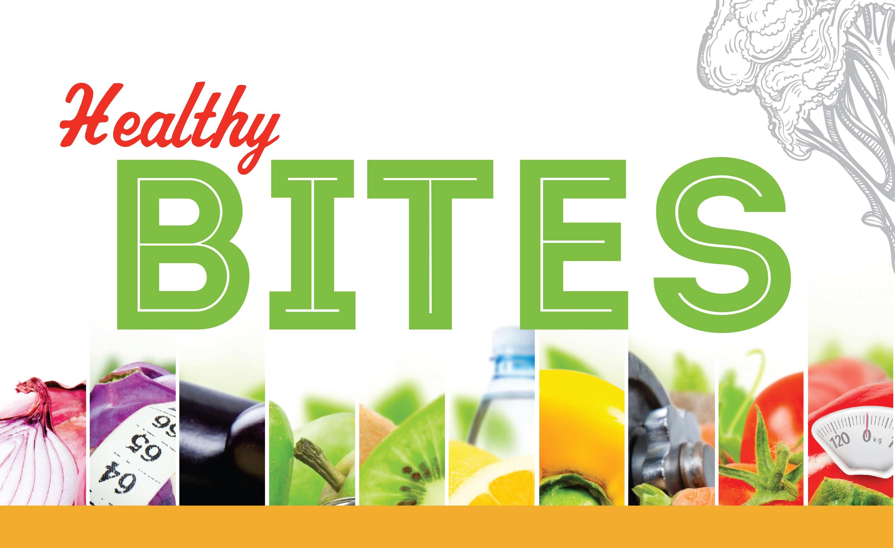 Healthy Bites poster