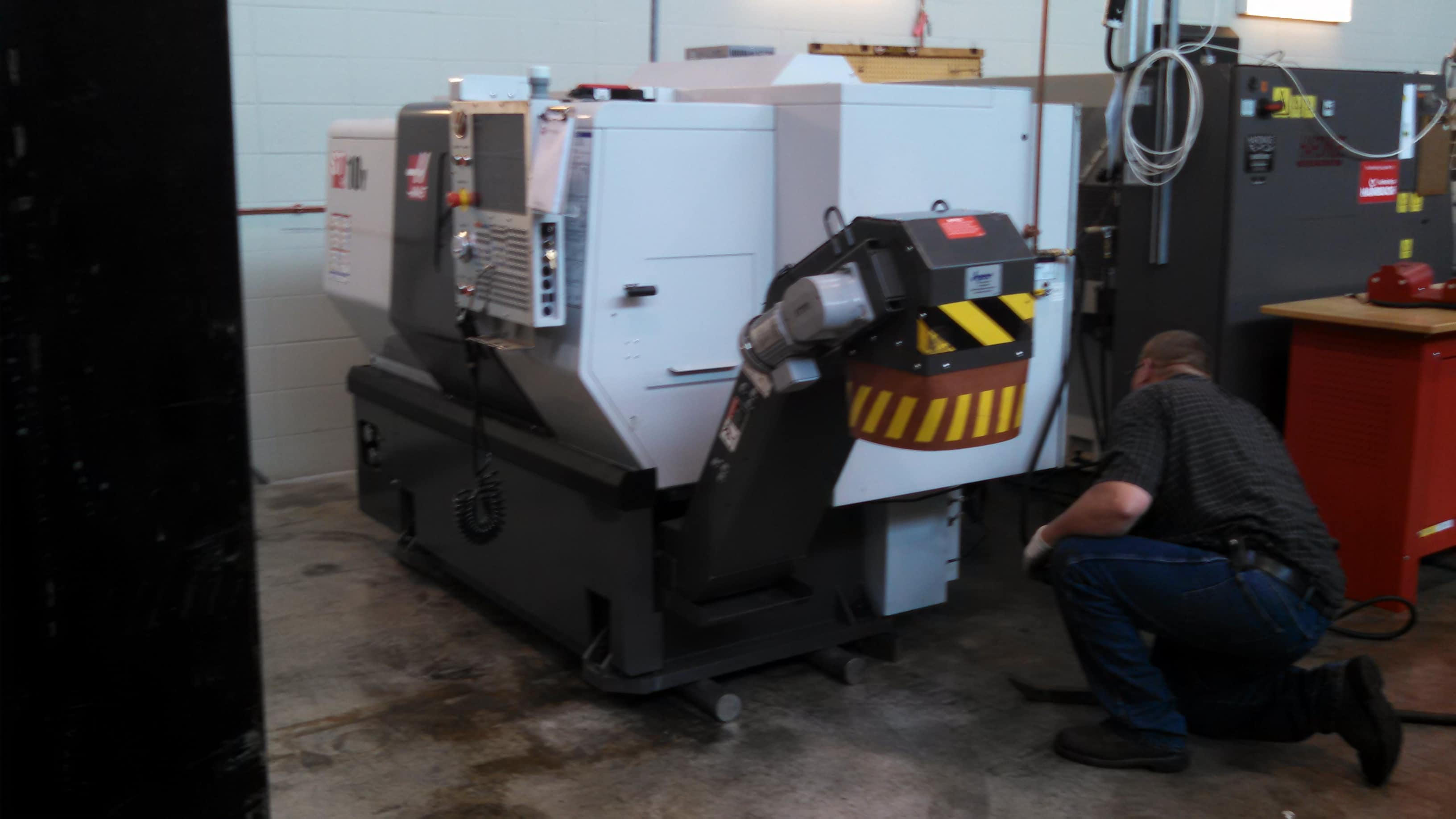 West Bend Campus adding Haas 10Y machine for 2016