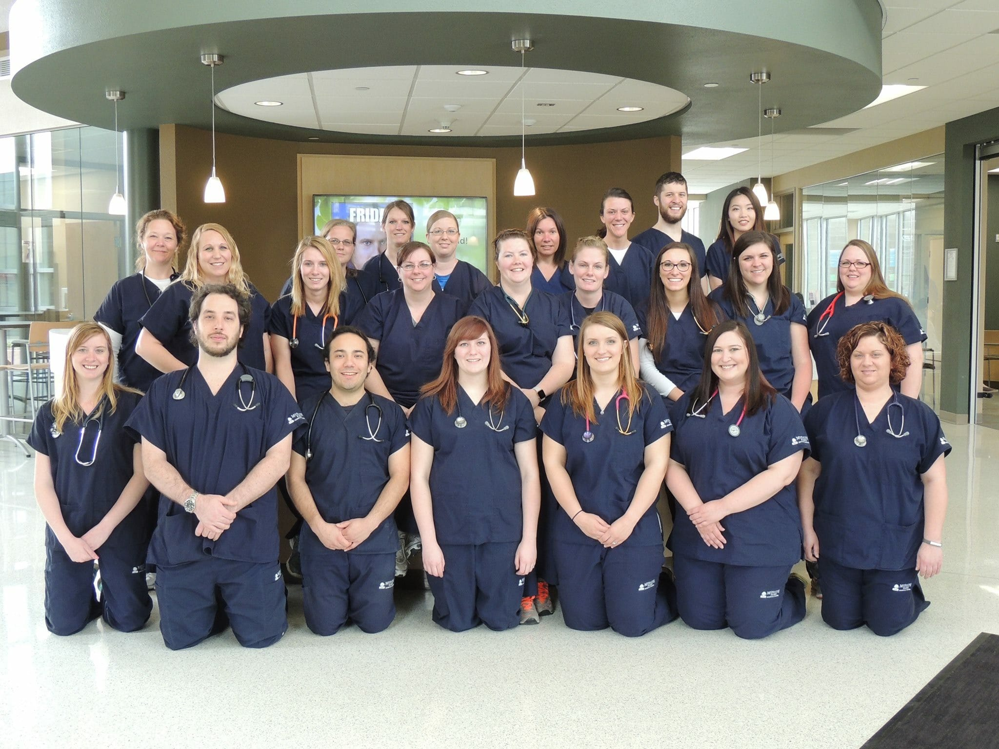 Moraine Park pinning of Nursing graduates