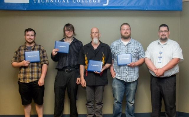 2016 Spring Boot Camp Welding Graduates