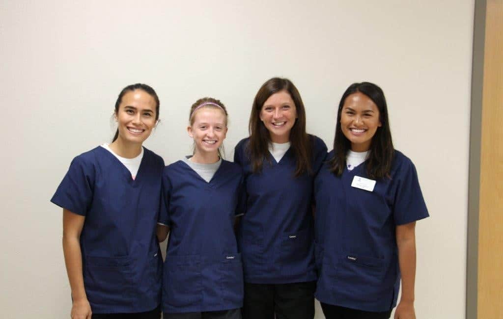 Moraine Park nursing assistant female grads