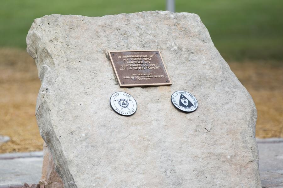 9-11 Memorial Site behind FDL Moraine Park campus