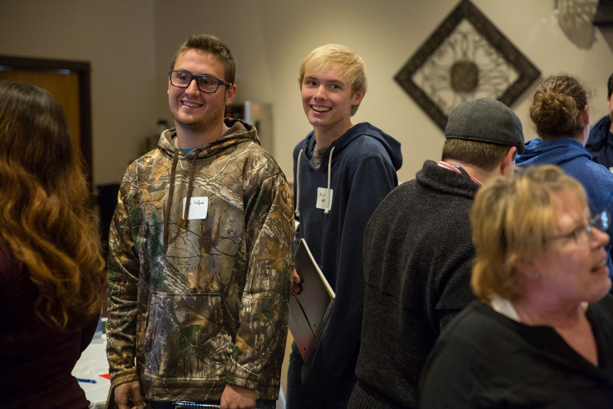 oraine Park Fall leadership conference students