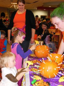 Halloween costumes at Moraine Park West Bend campus