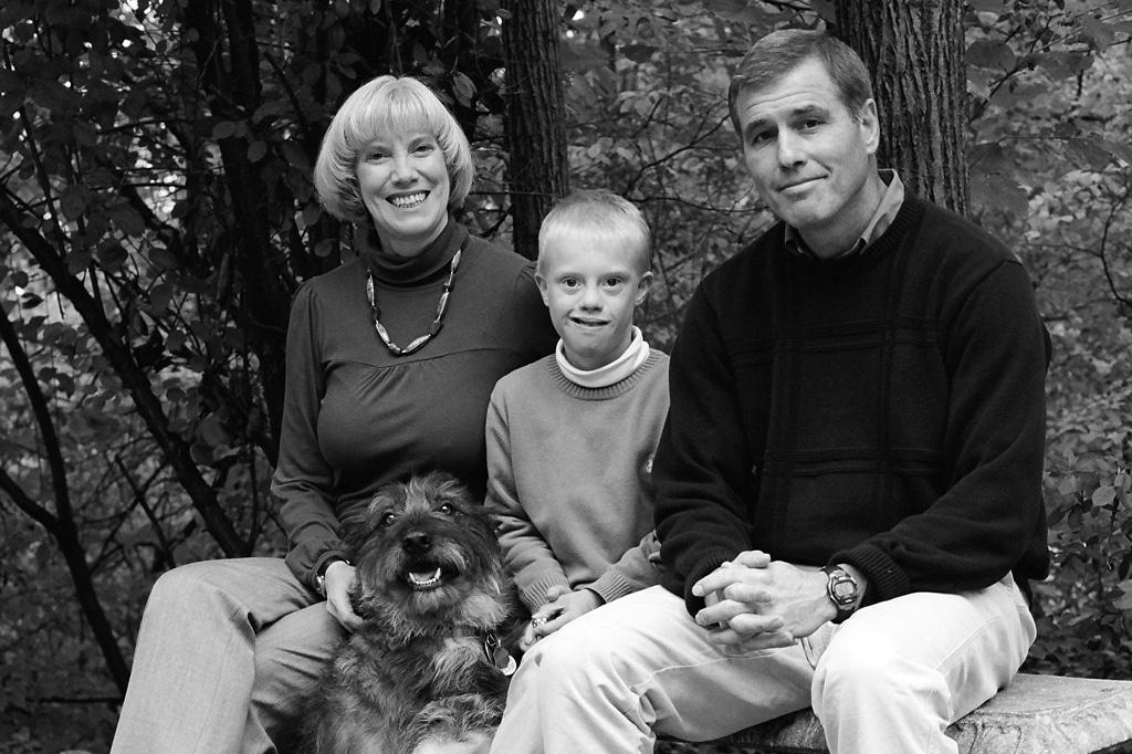 rob heyrman with family