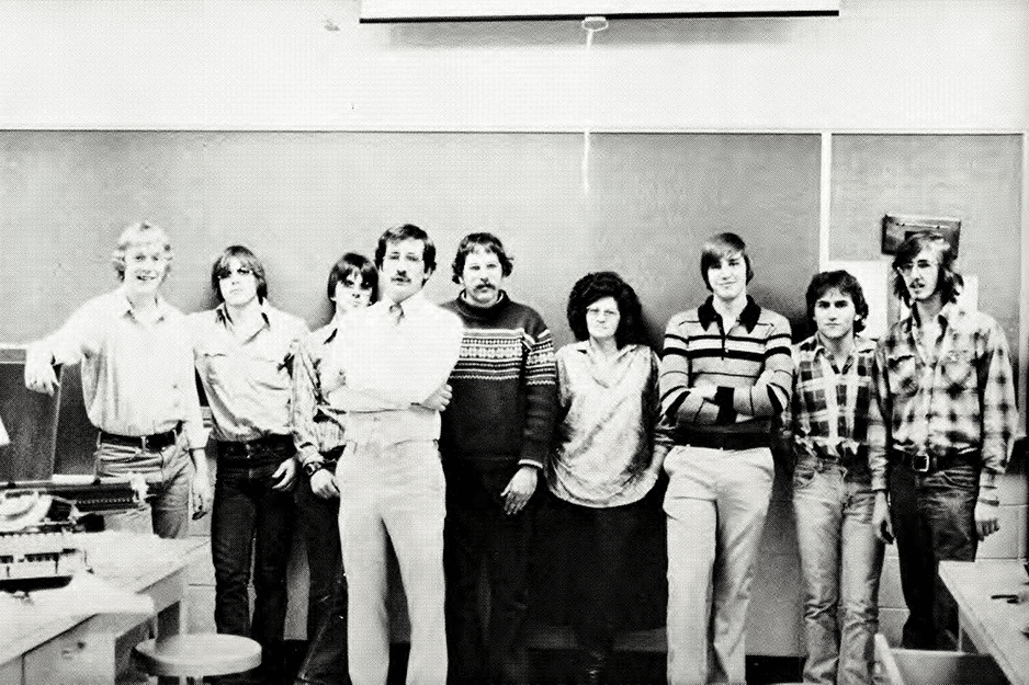 Class picture from 1979