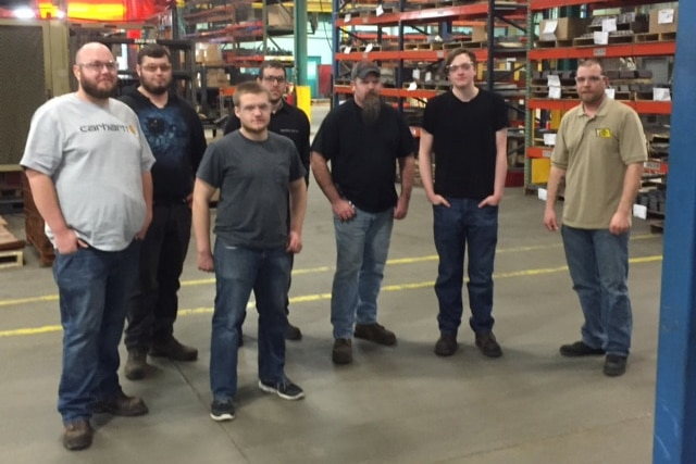 Moraine Park Welding student tour Steel Craft