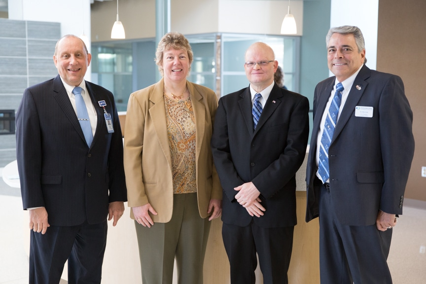 Senator Dan Feyen tours Moraine Park Technical College