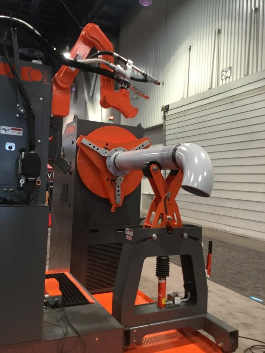 Machinery at Las Vegas expo