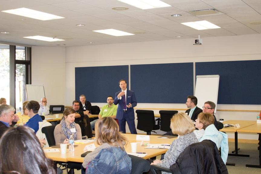 Moraine Park EWD Business Forum group