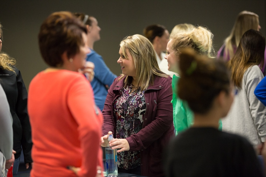 Students listen to importance of soft skills in healthcare