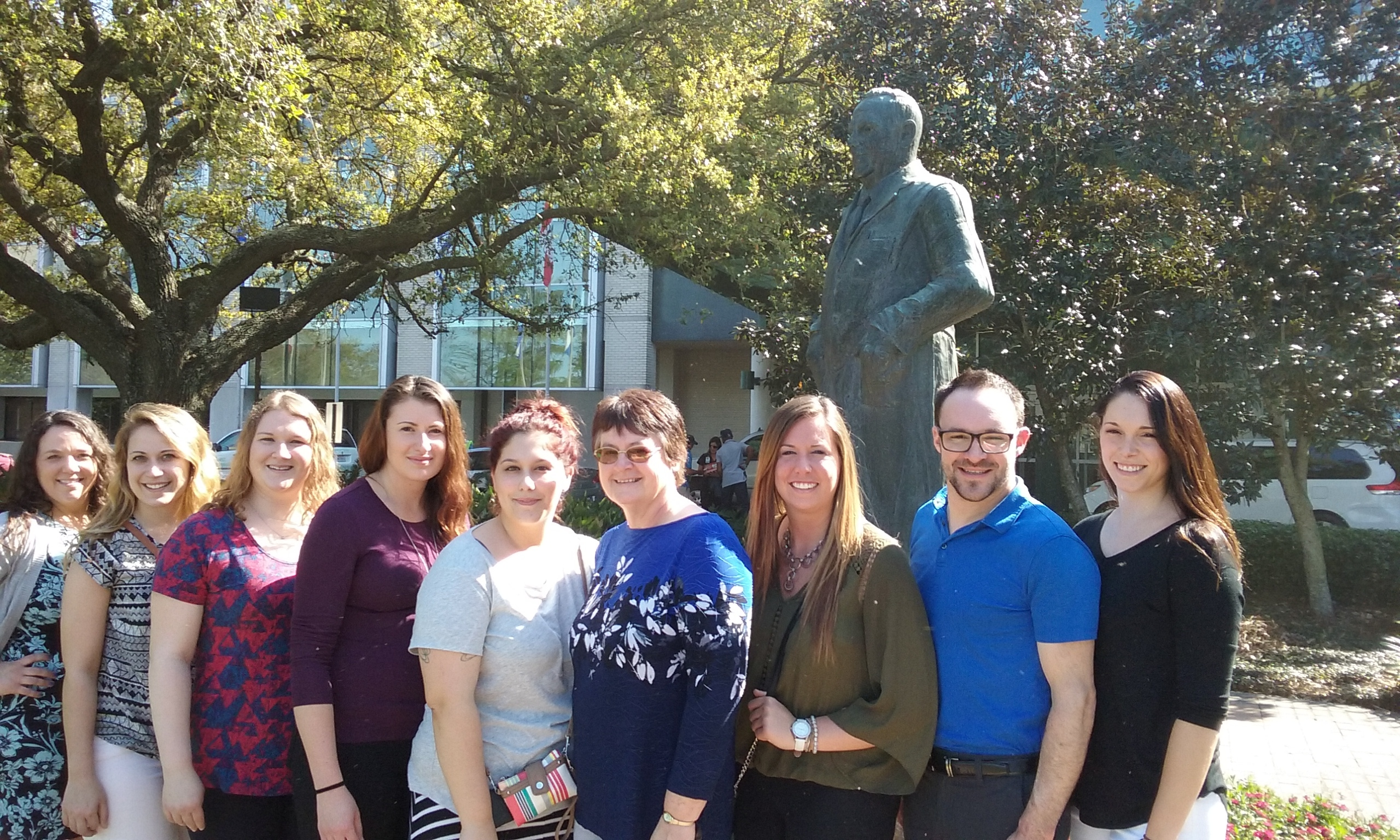 Moraine Park West Bend Student nurses travel to NOLA