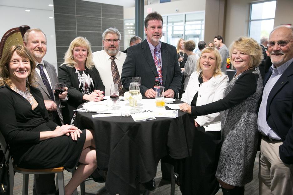 Moraine Park Foundation Gourmet Dinner attendees
