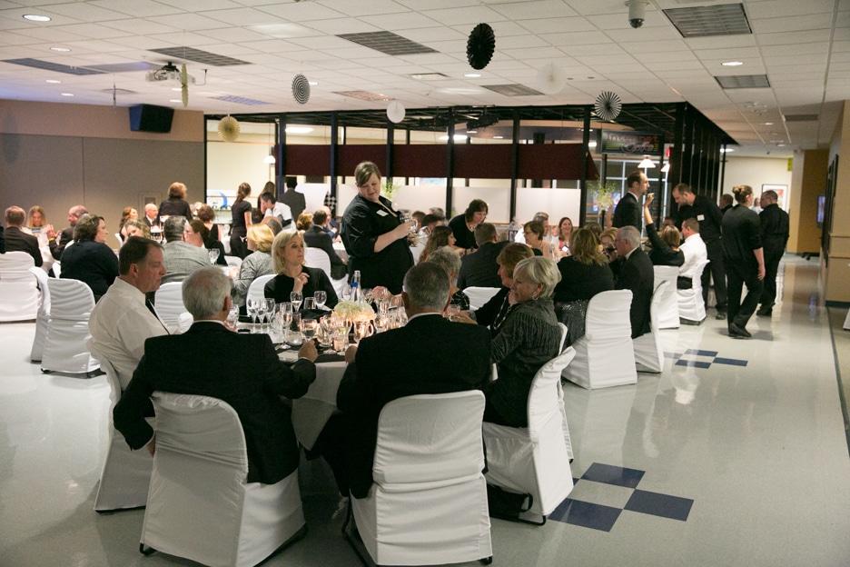Attendants at Moraine Park Gourmet Dinner