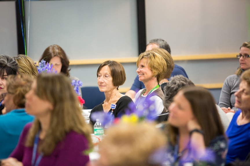 Employees at Moraine Park Retirement Service Recognition event