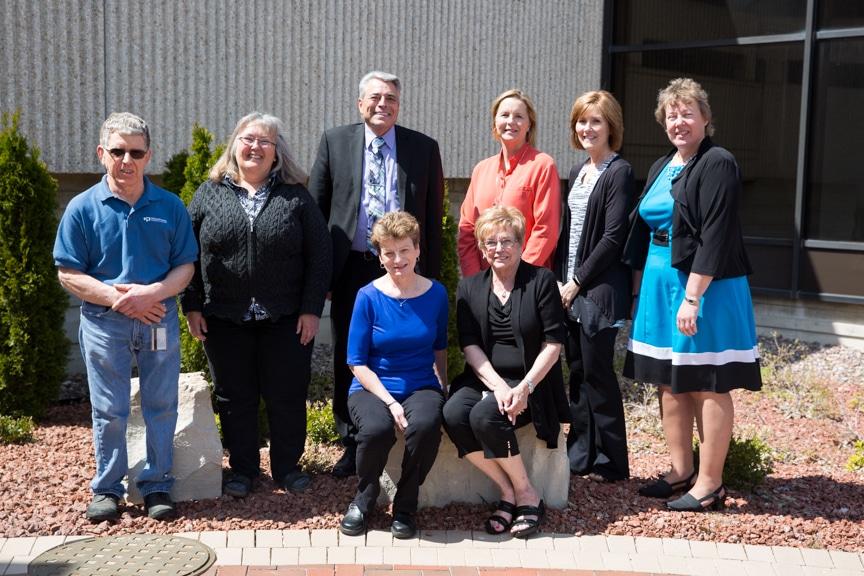 Moraine Park Retirment-Service Recognition group shot outside