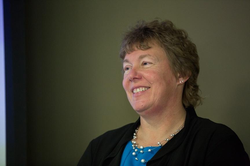 Moraine Park president Bonnie Baerwald