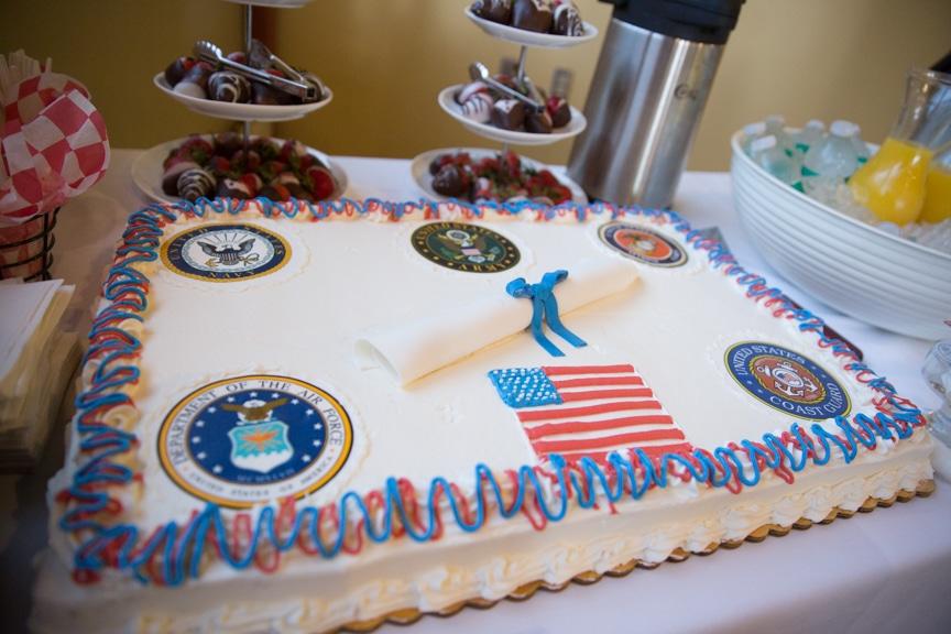 Cake for Hail & Farewell ceremony