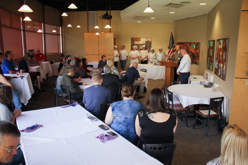 Veterans honored at Hail & Farewell ceremony