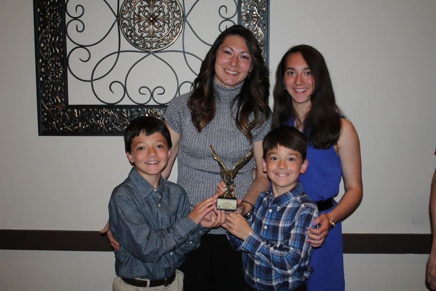 Carla Stephany and her family.