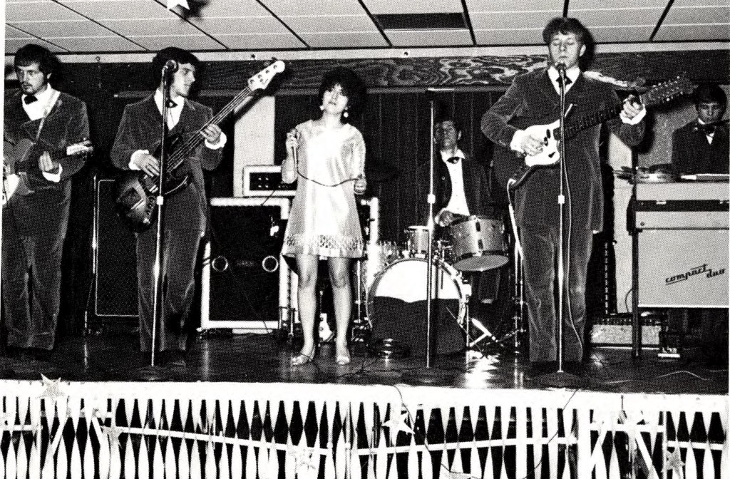 archive image of 1969 musical group at moraine park performing