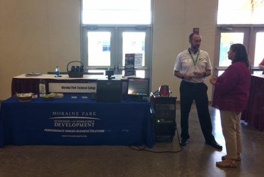 Booth at Washington County Job Fair