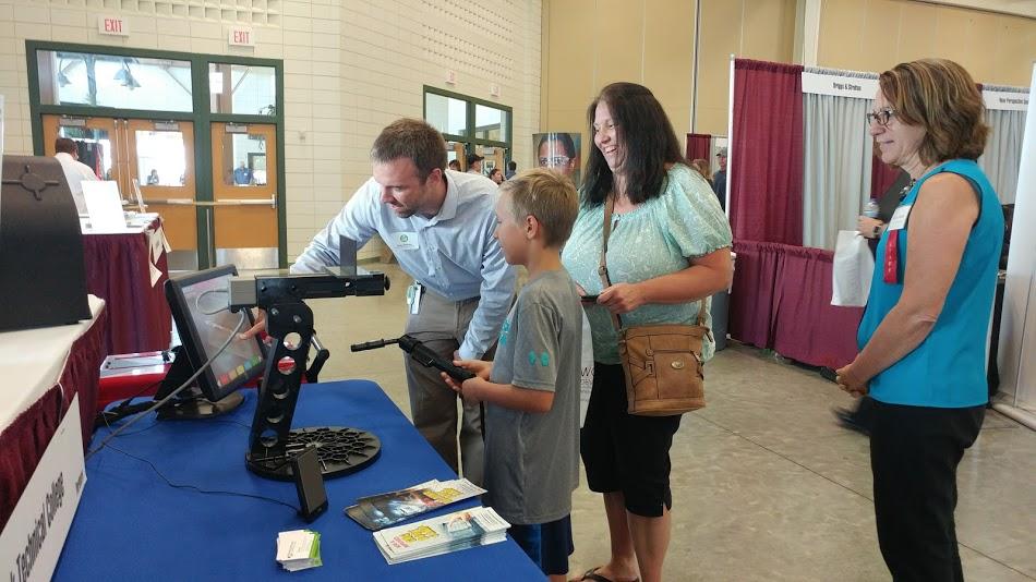 MPTC Business Rep at Washington County Job Fair