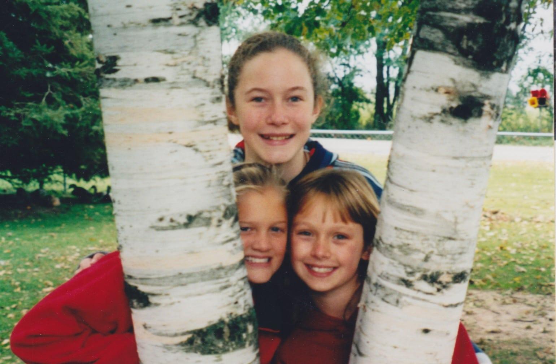 homeschool, three girls