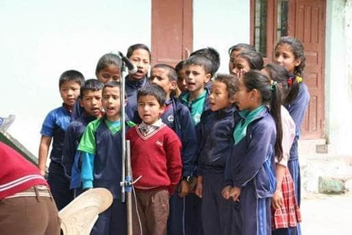 nepal kids from Get Paper International