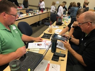 healthcare faculty practice simulations with i pads