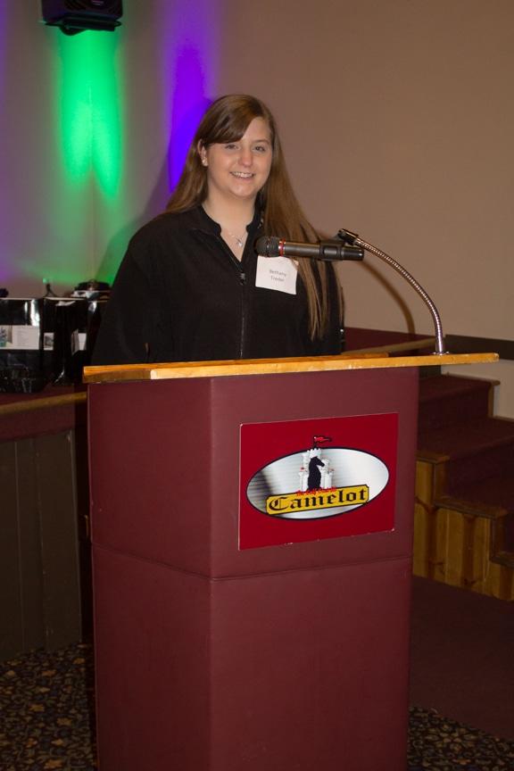 scholarship winner Bethany Treder