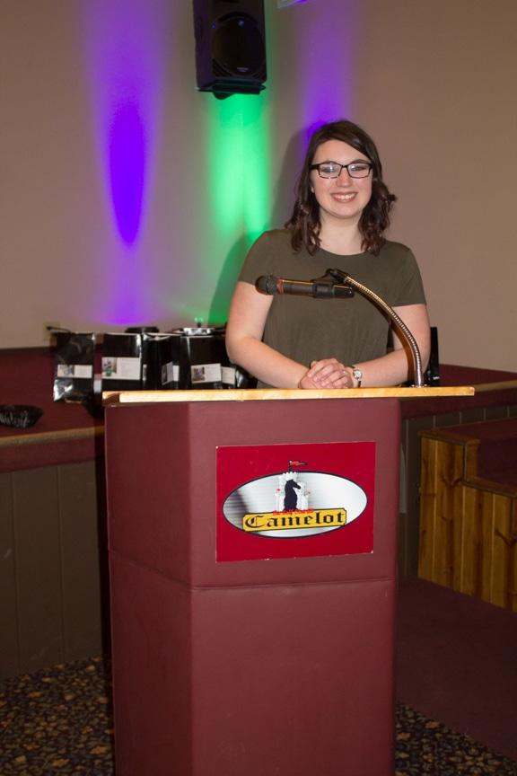 scholarship winner Maddie Schueller