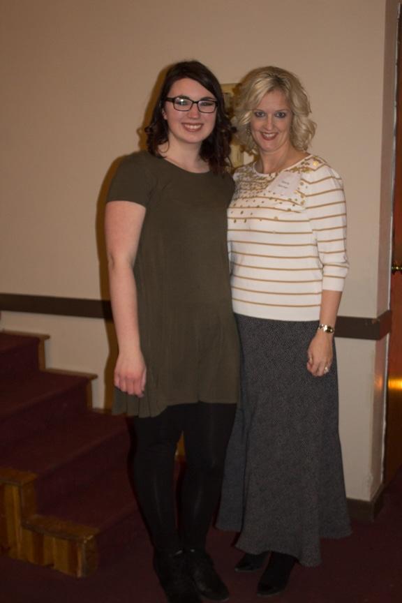 Maddie Schueller and Marla Werner