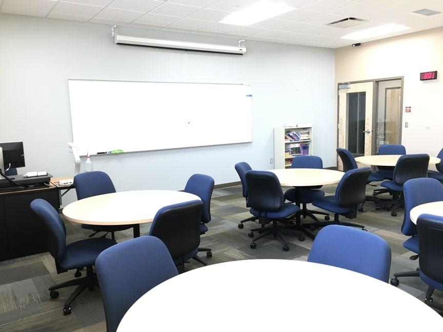 ell classroom interior