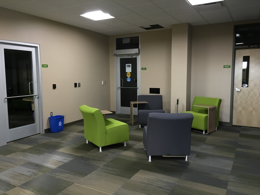seating in hallway