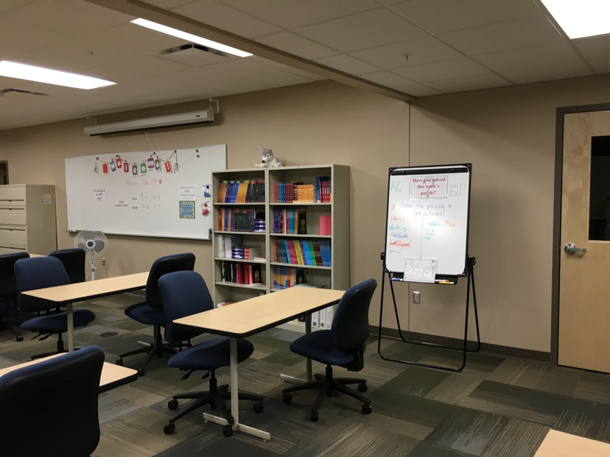 tables in student success center