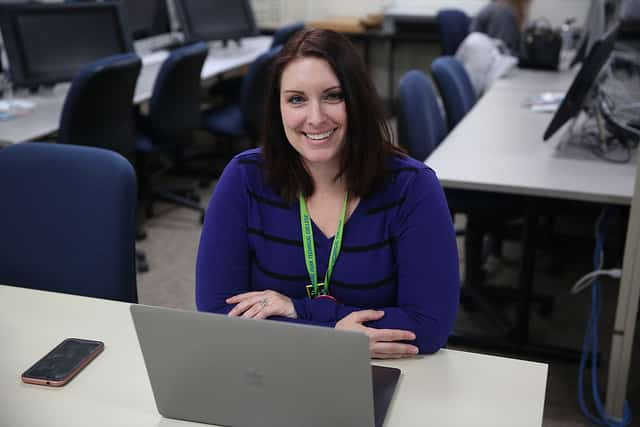 marketing instructor Sarah Ninmer