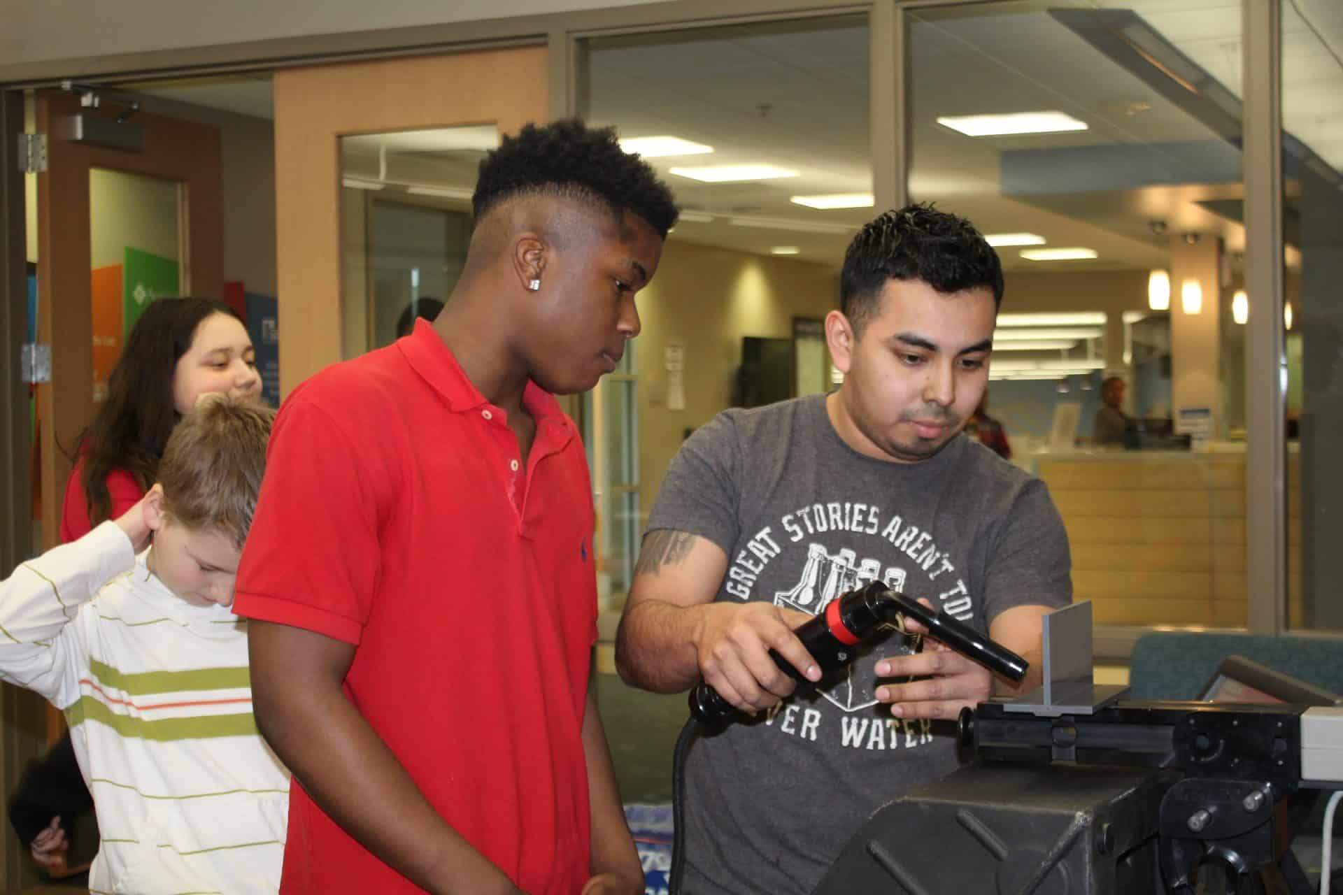 virtual welder at Boys and Girls Club
