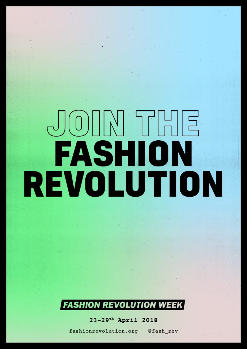 Join the Fashion Revolution poster