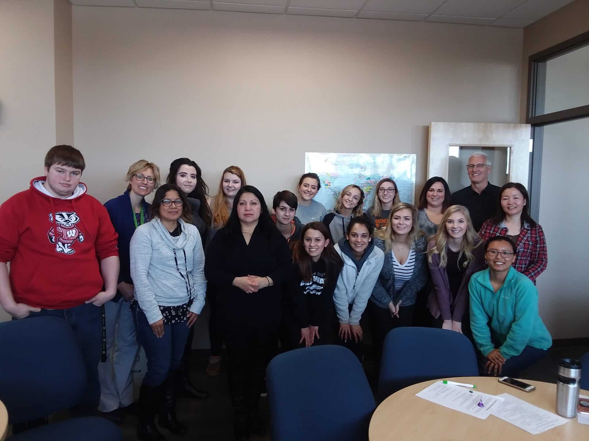 Moraine Park ELL and Occupational Communication classes