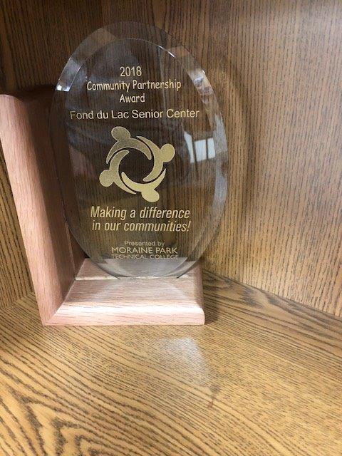 2018 community partnership award