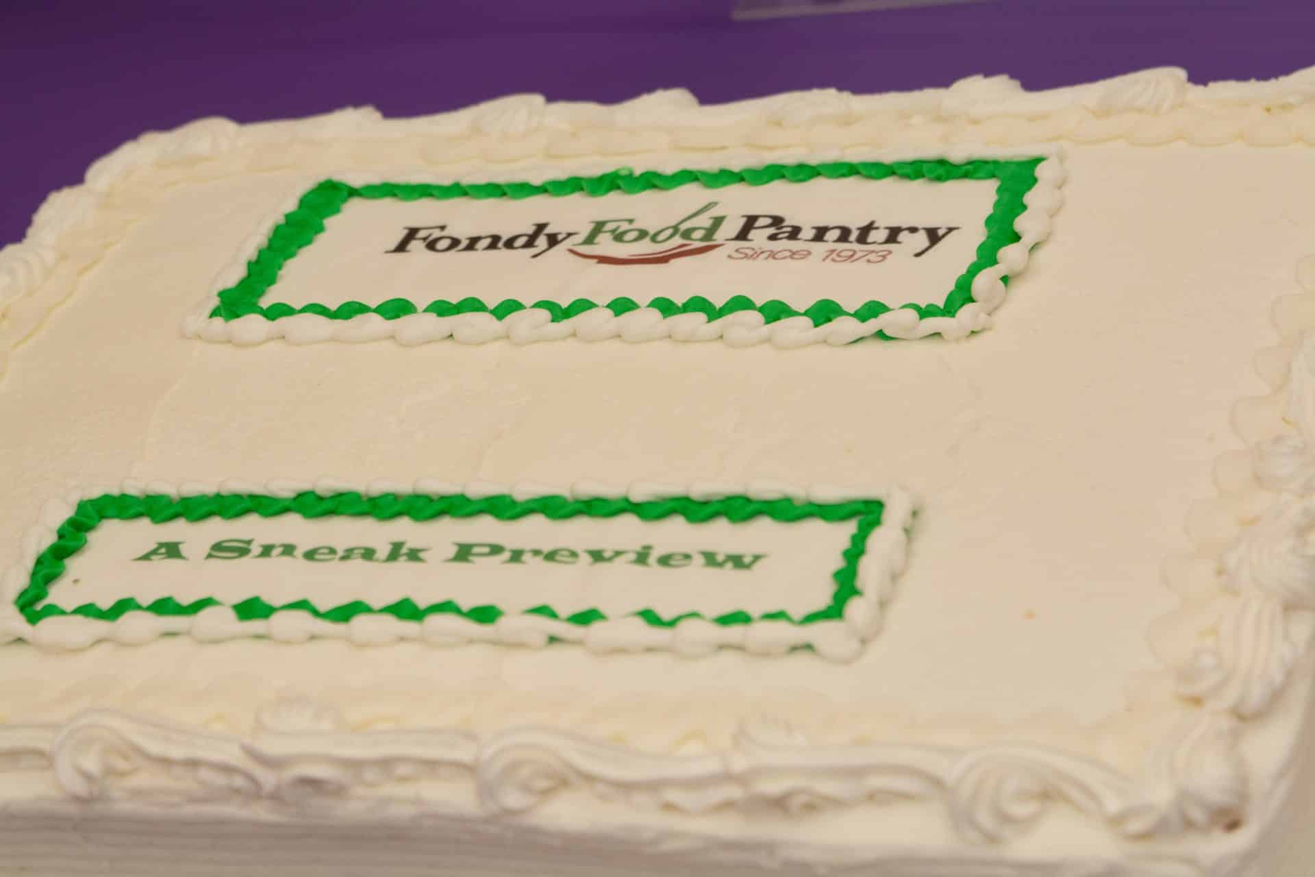 A Sneak Preview Event on May 10 for the new Fondy Food Pantry was planned by Moraine Park Technical College students.