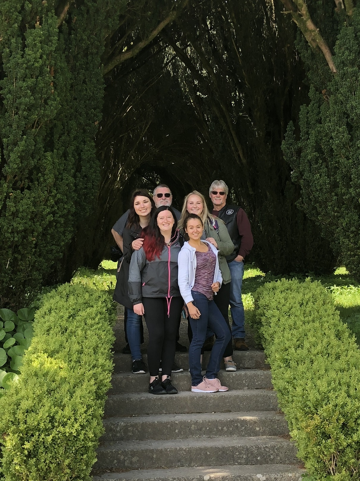 Students in Ireland Study Abroad Trip