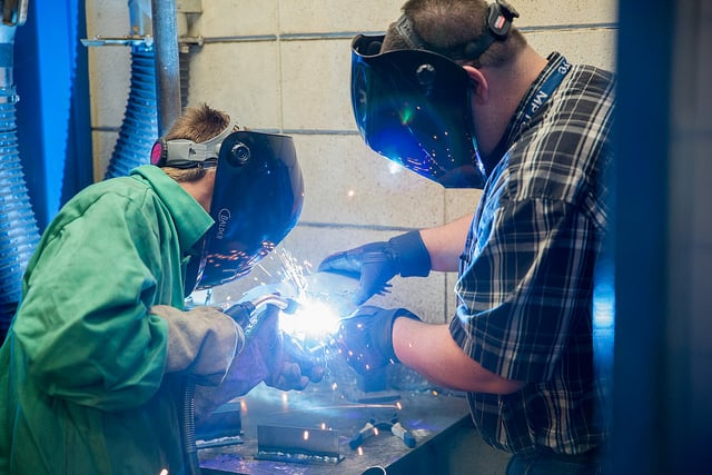 welding test drive