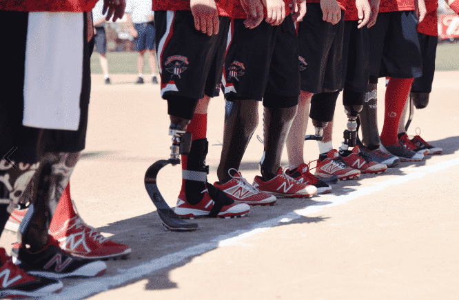 wounded warriors softball team