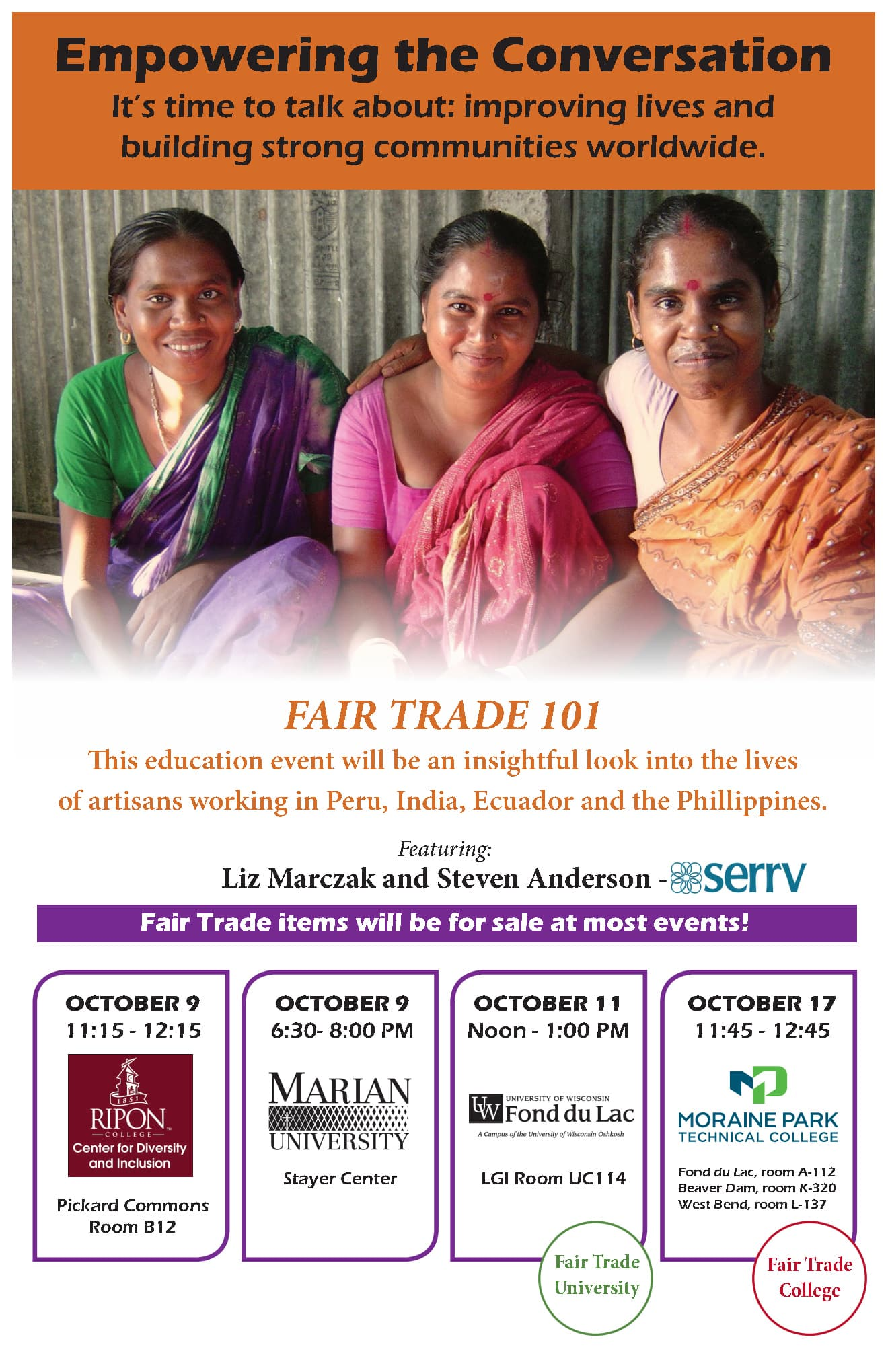 Fair Trade College Poster
