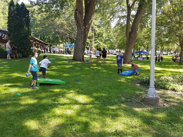 Fiesta Beaver Dam children playing