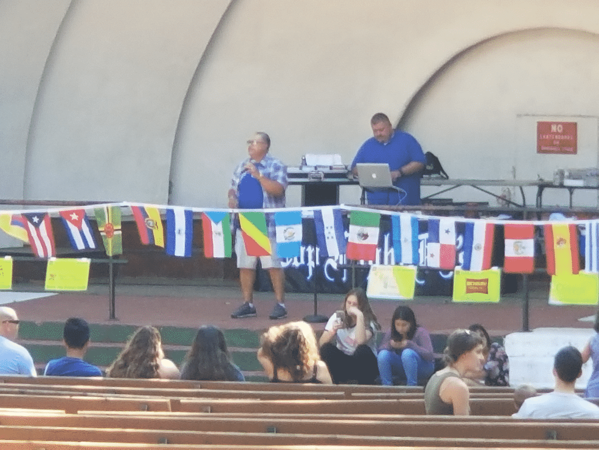 Fiesta Beaver Dam Bandshell performance